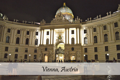 Vienna Austria Photo Post Cover