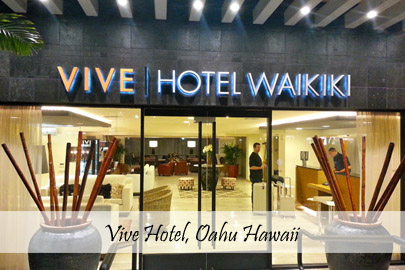 Vive Hotel Hawaii Cover