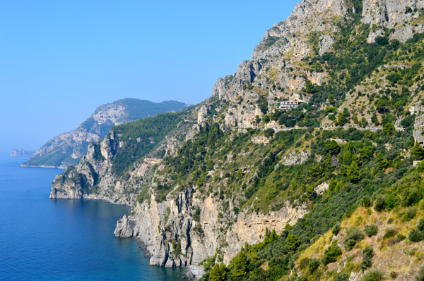 A Drive through Sorrento and the Amalfi Coast - Photo Essay - Coastline 1