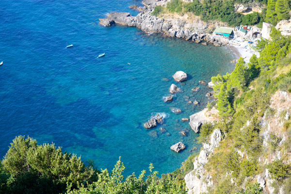 A Drive through Sorrento and the Amalfi Coast - Photo Essay - Coastline