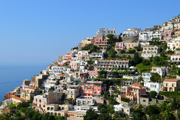 A Drive through Sorrento and the Amalfi Coast - Photo Essay - House on Hills