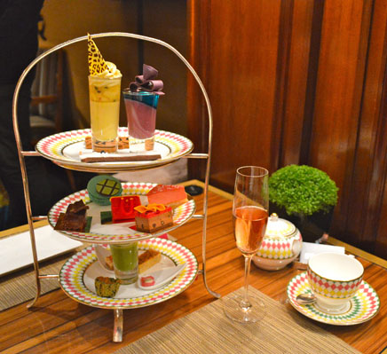 Afternoon Tea for Fashionista's at The Berkeley London