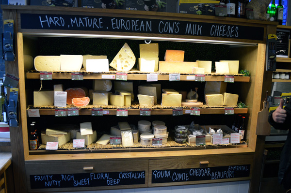 Discovering English Cuisine with Eating London Food Tour - Cheeses