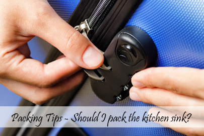 Packing Tips – Should I pack the kitchen sink Cover