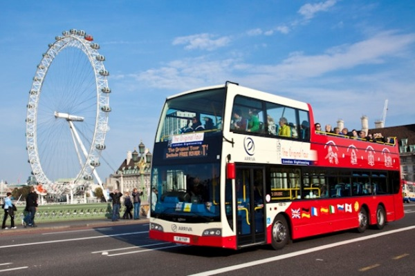 London by Bus on The Original Tour - Bus
