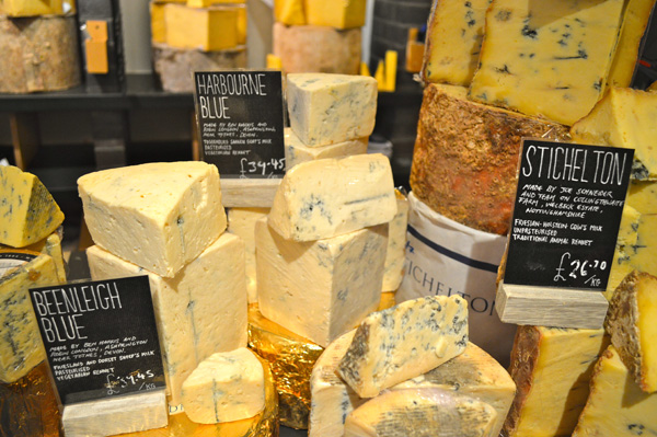A walk through Seven Dials London - Cheese