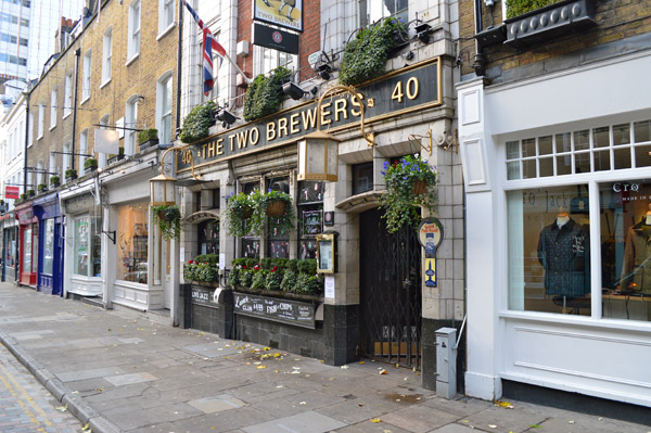A walk through Seven Dials London - Pub
