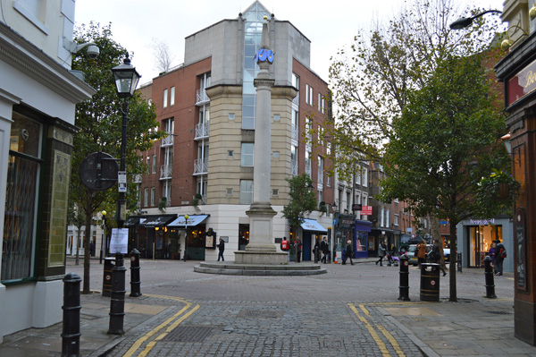A walk through Seven Dials London - Seven Dials