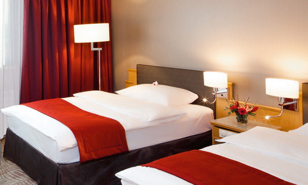Charm and Charisma at Movenpick The Hague - Bed1 - Source - movenpick website