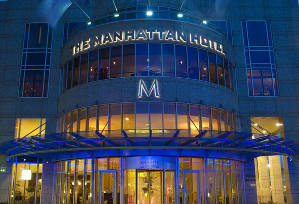 Pure Class at Manhattan Hotel Rotterdam - Front