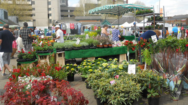 Kingston upon Thames - monday-market-plants