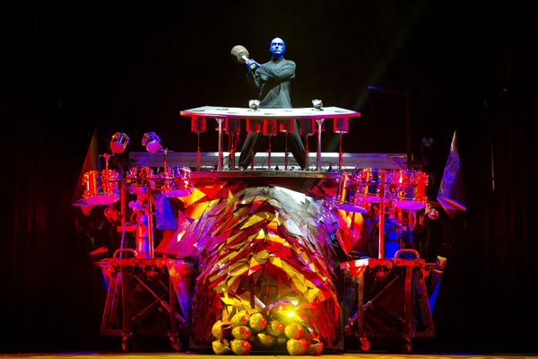 Not so blue after seeing the Blue Man Group in Las Vegas - Pic 4