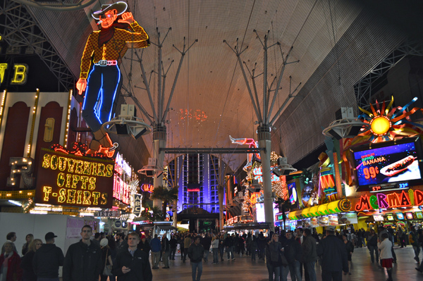 Post Cards from Sin City - Las Vegas Photo Essay - Fremont Street 2