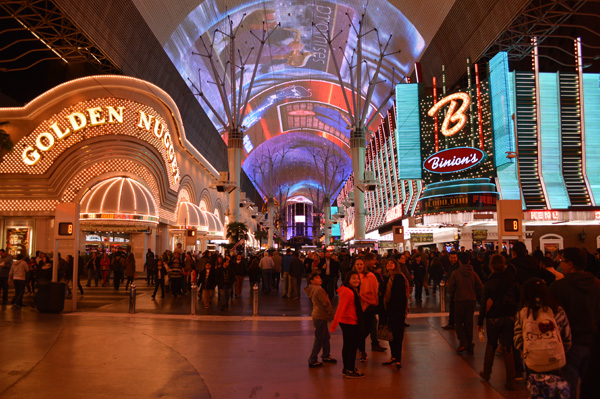 Post Cards from Sin City - Las Vegas Photo Essay - Fremont Street 3