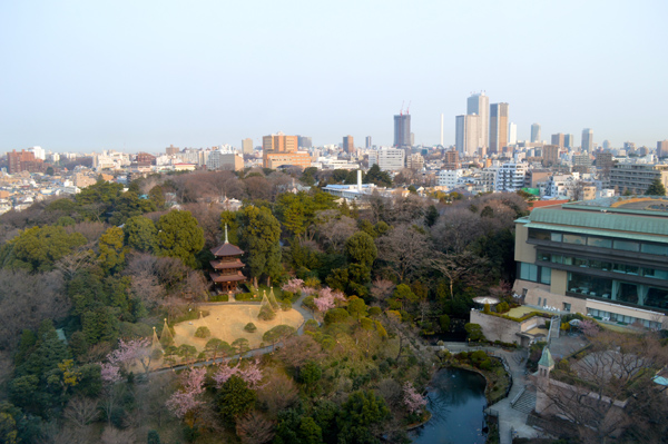 A Wonderful Welcome to Tokyo at Hotel Chinzanso - View