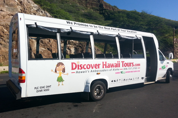 See Oahu in a Day with the Ultimate Circle Island Eco Adventure - Bus