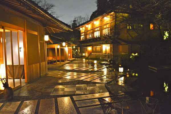 A Magical Traditional Japan Experience at HOSHINOYA Kyoto - Night