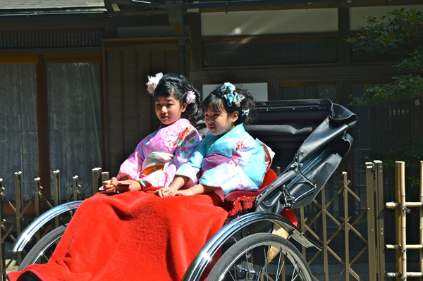 Japan Postcards - Our Journey through Tokyo and Kyoto - Kyoto - Girls