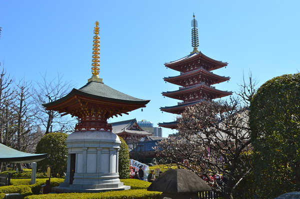 Japan Postcards - Our Journey through Tokyo and Kyoto - Tokyo - Temples