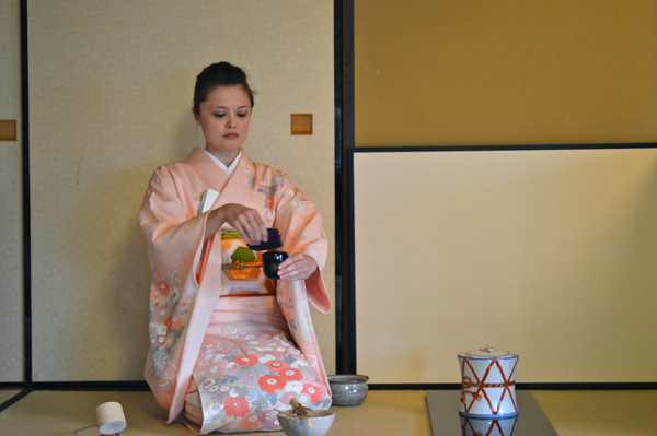 Japan Postcards - Our Journey through Tokyo and Kyoto - Tokyo - Traditional Tea