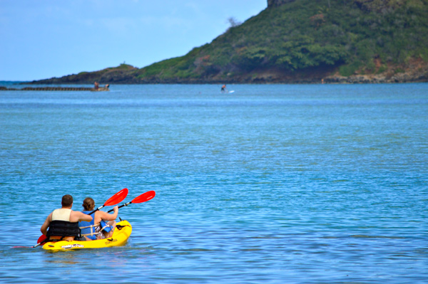 Postcards from Hawaii - Our Best from Oahu, Maui and Kauai - Oahu - Paddle away