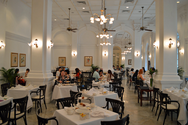 An Afternoon of High Tea & History at Raffles Singapore - Room