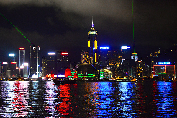 Four Must Dos While Visiting Hong Kong - Light show
