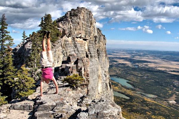 Freedom 35  My Chosen Life - handstand