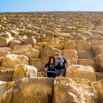 Living the Life: The Great Pyramids of Giza by @lat34travel