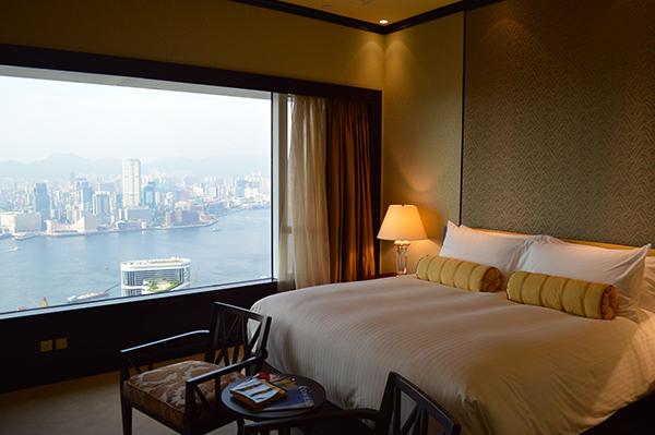 Elegance and Luxury at Conrad Hong Kong - Bed