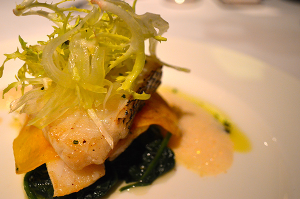 Elegance and Luxury at Conrad Hong Kong - Dinner food