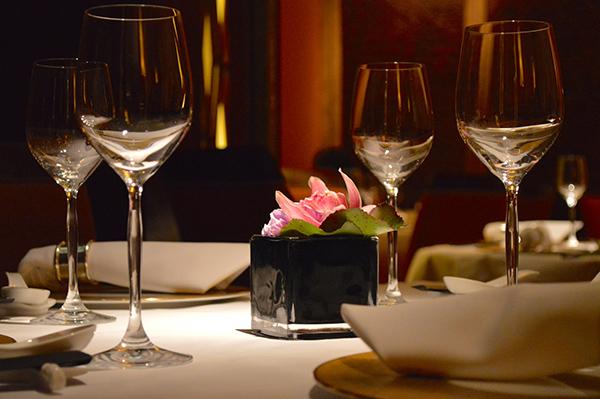 Elegance and Luxury at Conrad Hong Kong - Dinner
