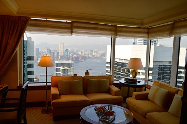 Elegance and Luxury at Conrad Hong Kong - Room