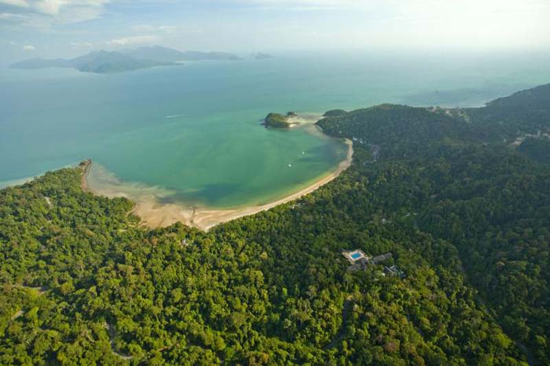 Getting Lost in Langkawi - Island Arial Shot
