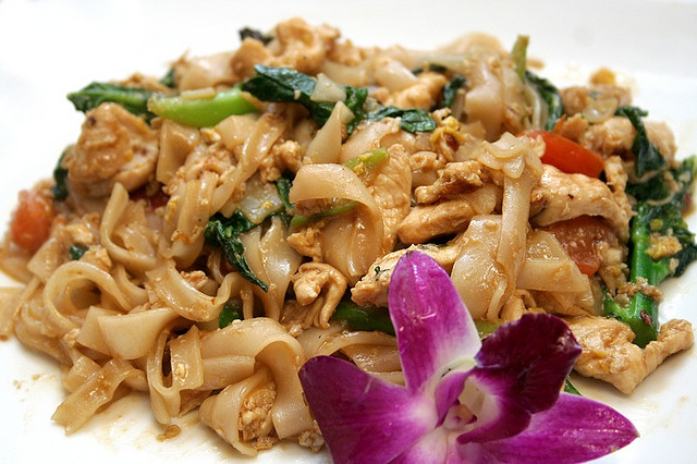 The Best of Thai Cuisine - Drunken Noodles
