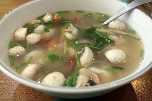 The Best of Thai Cuisine - Tom Yum Soup