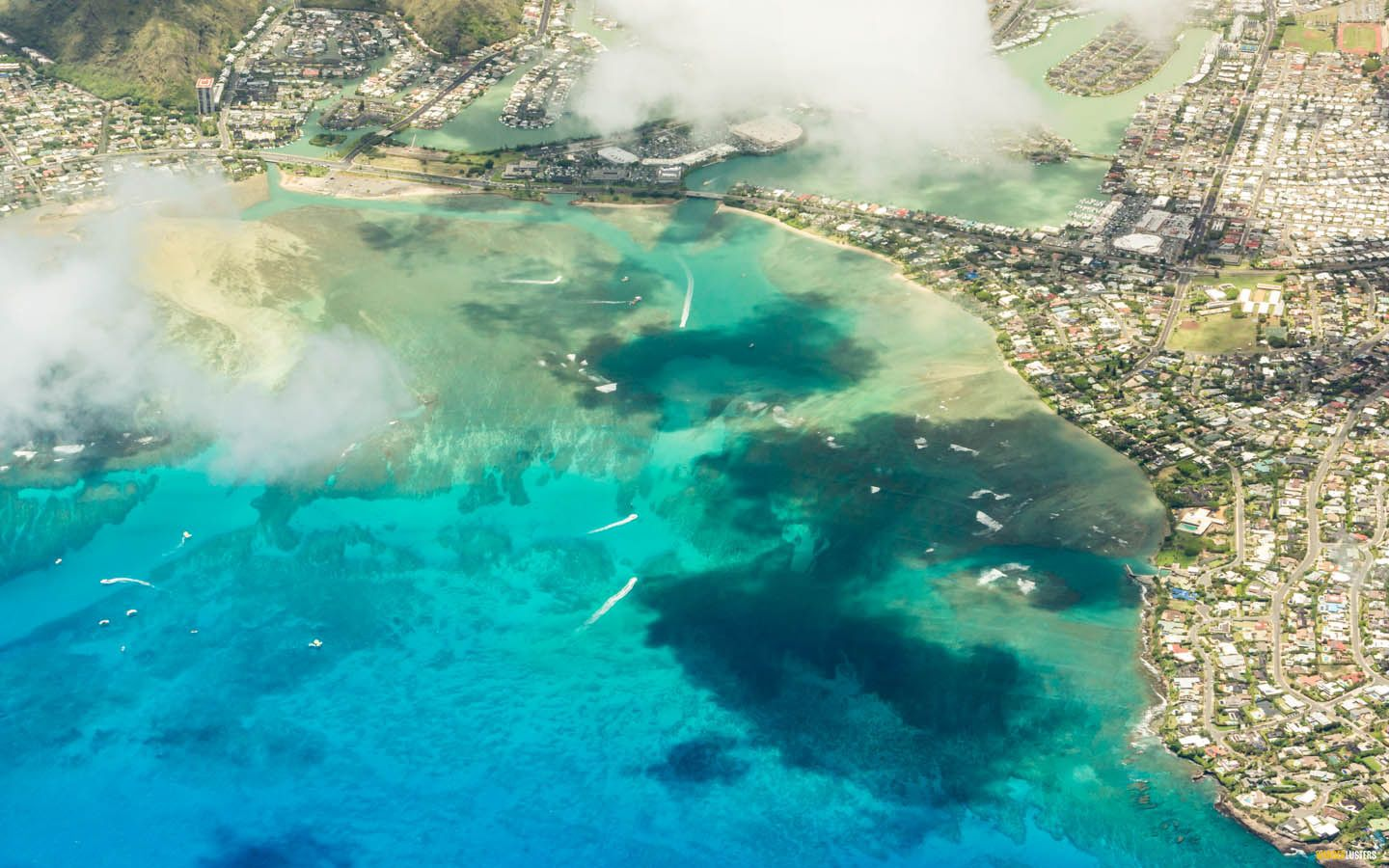5 Reasons To Book An Escape To Molokai - aerial-oahu1