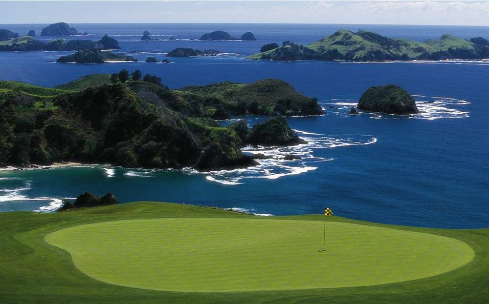 Most Scenic Golf Courses Around the World -  Kauri Cliffs Golf Club