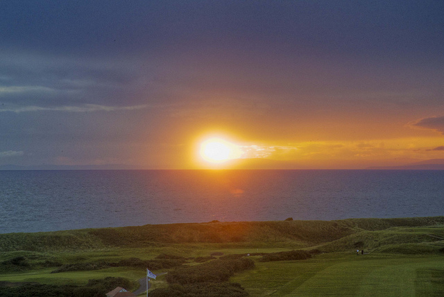 Most Scenic Golf Courses Around the World -   Turnberry Golf Club