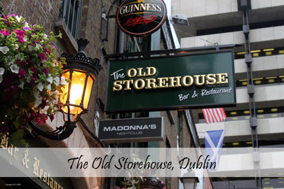 The Old Storehouse Dublin cover