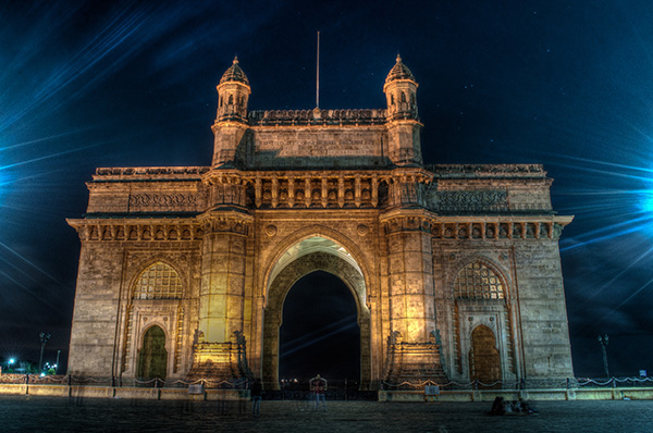 Three Days in Mumbai, India - Gateway_of_India_at_night