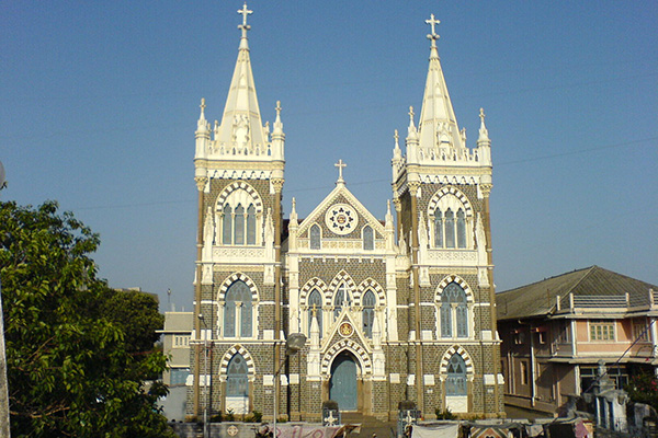 Three Days in Mumbai, India - Mount_Mary_Church_(Bombay)