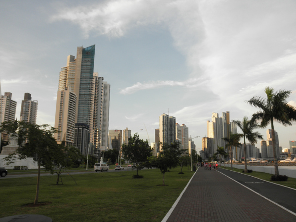 Three Days in Panama City, Panama - Cinta Costera Panama City aspect