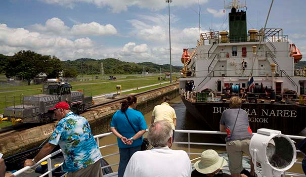Three Days in Panama City, Panama - panama-canal-partial-transit