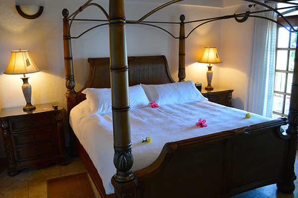 Luxury by the Sea at Chabil Mar Placencia, Belize - Bed
