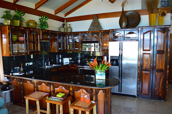 Luxury by the Sea at Chabil Mar Placencia, Belize - Kitchen