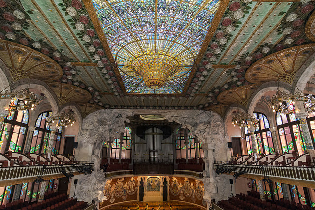 The Hidden Treasures of Barcelona - Palace of Catalan Music