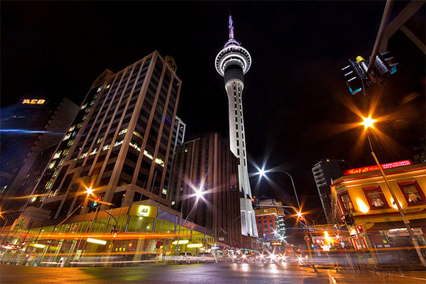 Three Days in Auckland, New Zealand - Sky Tower