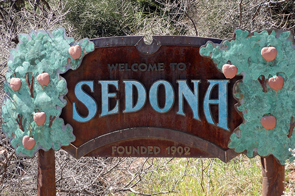 Three Days in Sedona, USA - Sedona Sign