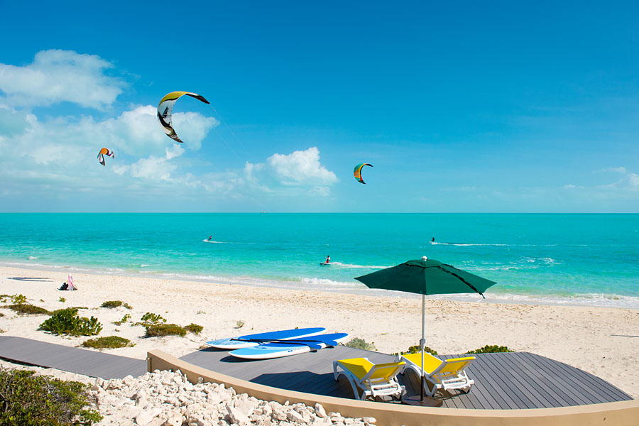 A Week Escape to Turks and Caicos - Windhaven - Kiteboarding